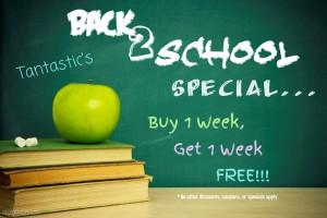 back 2 school special