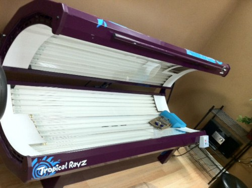Velocity Level  Tanning Bed